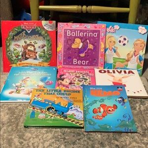 Mix Lot of 7 kids books